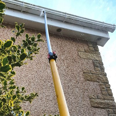 Fascia, soffit, cladding cleaning