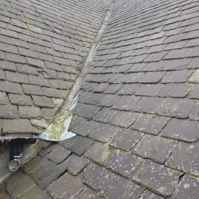 Blue Wave Aberdeen - professional gutter cleaning difficult to reach after