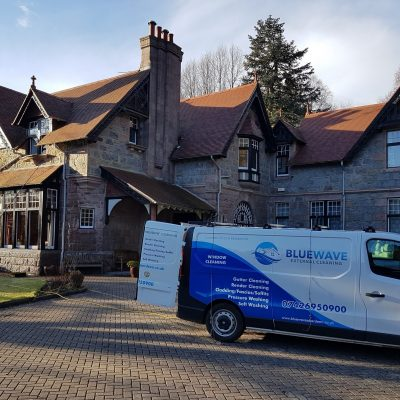Professional Window Cleaning in Aberdeenshire Blue Wave